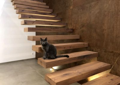 Schrank treppe